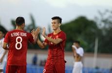 Fútbol: Apabulla Vietnam 6-1 a Laos en SEA Games 30