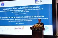 Enfatizan desempeño de la evaluación de tecnologías sanitarias en Vietnam