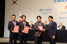 Inyectan inversores sudcoreanos más de 15 mil millones de dólares en Hanoi