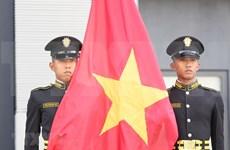 Izan bandera vietnamita en Juegos del Sudeste Asiático