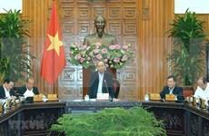 Premier vietnamita preside reunión sobre plan del desarrollo socioeconómico para 2020