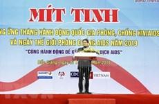 Responde Vietnam al Día Mundial de la Lucha contra el SIDA