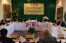 Valoran medidas para fortalecer los lazos entre agricultores de Vietnam, Laos y Camboya