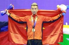 Triunfa Vietnam en lucha con palos en los XXX Juegos Deportivos del Sudeste Asiático