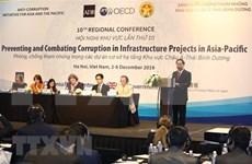 Sesiona en Vietnam conferencia de Asia- Pacífico sobre iniciativas contra la corrupción