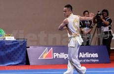 Abre tercera jornada de los SEA Games 30  con oro para Vietnam en Wushu