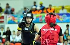 Consigue wushuista vietnamita cuarta medalla de oro en tercera jornada de competencia regional