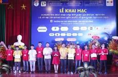 Nutrida participación en Olimpiada de Computación y Concurso Internacional de Programación en Vietnam
