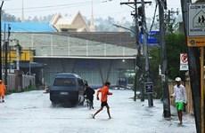Reportan en Filipinas al menos una decena de muertos como consecuencia del tifón Kammuri