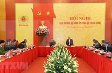 Destaca máximo dirigente de Vietnam contribuciones de la Policía Popular Nacional