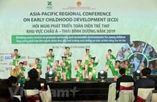 Acoge Vietnam por primera vez Conferencia de Asia-Pacífico sobre Desarrollo Infantil