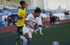 SEA Games 30: Selección sub22 de fútbol camboyana por primera vez entró a la semifinal