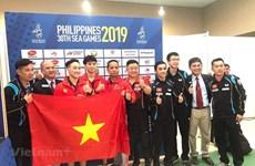 Aumenta Vietnam cosecha dorada en séptima jornada de competencia de SEA Games 30