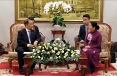 Lista Ciudad Ho Chi Minh para organizar actividades por aniversario de nexos Vietnam- China