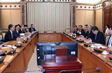 Ciudad Ho Chi Minh aspira a intensificar cooperación con empresas japonesas