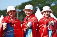 SEA Games 30: cosecha de oros de arquería y atletismo de Vietnam