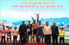 Concluyen torneo internacional de ciclismo Lao Cai, Vietnam- Honghe, China
