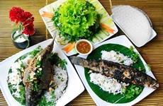 Inauguran en provincia vietnamita de Dong Thap nueva calle gastronómica