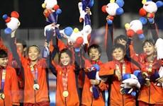 Recompensan al equipo femenino de fútbol de Vietnam, campeón sudesteasiático