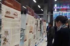 A 500 años de su muerte, abren exhibición sobre Leonardo da Vinci en Hanoi