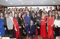 Máxima legisladora vietnamita se reúne con compatriotas residentes en Rusia