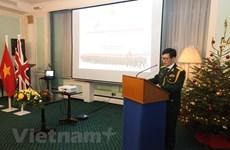 Conmemoran en Reino Unido la  fundación del Ejército Popular de Vietnam