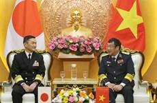 Fortalecen cooperación Armadas de Vietnam y Japón
