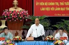 Destaca premier vietnamita alentadores logros de la provincia de Ca Mau
