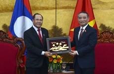 Delegación de la Asamblea Nacional de Laos visita ciudad vietnamita de Da Nang