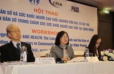 Consideran a Vietnam como uno de los países con alta tasa de envejecimiento
