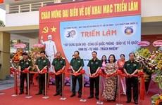 Abren en Ciudad Ho Chi Minh exposición sobre construcción militar y defensa nacional