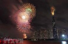 Ciudad Ho Chi Minh dará la bienvenida al nuevo año con fuegos artificiales