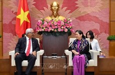 Reafirma subtitular del Parlamento vietnamita solidaridad con Cuba