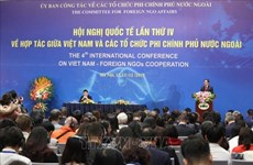 Inauguran la IV Conferencia Internacional sobre Cooperación entre Vietnam y ONGs