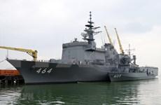 Visitan buques de Fuerza Marítima de Autodefensa de Japón ciudad vietnamita de Da Nang