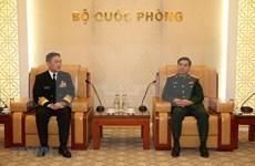 Abogan por intensificar lazos entre las Armadas de Vietnam y Japón