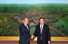 Fortalecen relaciones entre Vietnam y Camboya