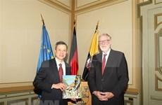 Promueven cooperación entre Vietnam y el estado alemán de Sajonia-Anhalt
