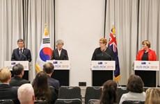 Australia y Corea del Sur expresan preocupación por disputas en Mar del Este