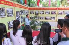 Celebra Can Tho exposiciones sobre Partido Comunista y Ejército Popular de Vietnam