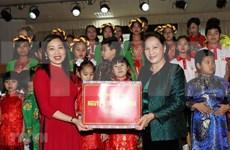 Continúa máxima legisladora vietnamita su agenda de visita en Belarús