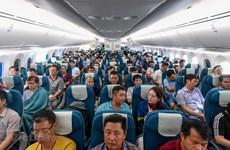 Transportan aerolíneas vietnamitas a casi 55 millones de pasajeros este año