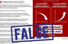 Fortalece Singapur lucha contra informaciones falsas