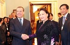 Destacan resultados de la gira de presidenta del Parlamento vietnamita a Rusia y Belarús