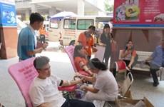 Movilizan 56 mil bolsas de sangre para proporcionar en Año Nuevo Lunar