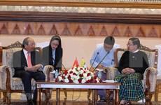 Primer ministro vietnamita se reunió con líder parlamentario de Myanmar