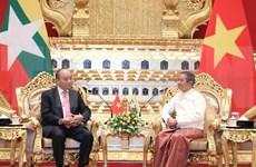 Resaltan desarrollo de asociación integral entre Vietnam y Myanmar