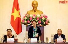 Inicia Comité Permanente del Parlamento de Vietnam su reunión 40