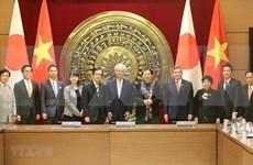 Órganos legislativos de Vietnam y Japón intensifican lazos bilaterales