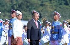 Vietnam y Myanmar ratifican empeño en profundizar asociación de cooperación integral